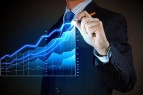 Closeup image of businessman drawing 3d graphics-Aug-19-2020-03-21-59-47-PM