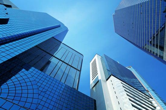 Corporate building to sky-1