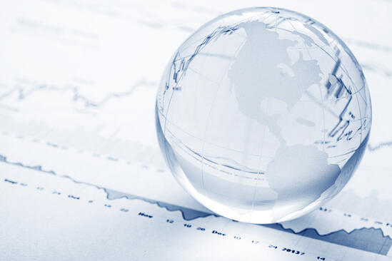 Global investment concept