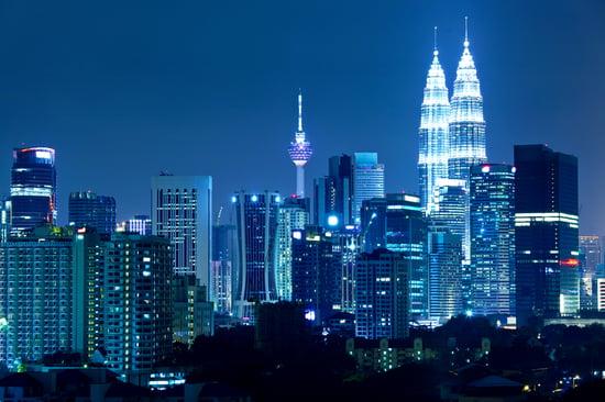 Kuala Lumpur skyline at night-1